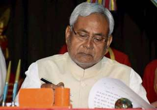 nitish attacks centre over poor condition of...
