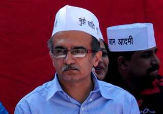 prashant bhushan questions credibility of aap...