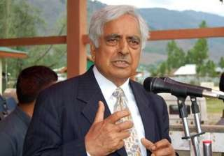 congress accuses mufti of u turn on composite...