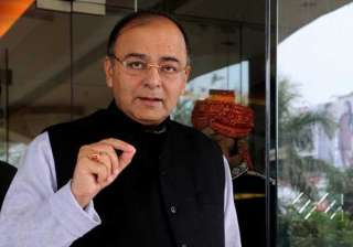 arun jaitley against higher income tax rate to...