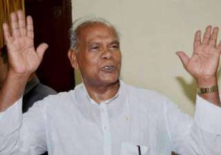 manjhi owns two guns but no match to his...