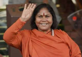 sadhvi niranjan jyoti gets vip security cover -...