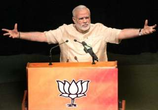 pm modi attacks opposition for projecting land...