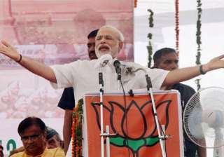 modi lauds kashmiris for their faith in democracy...