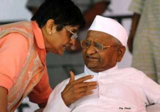 phoned anna hazare several times but could not...