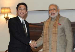 japanese foreign minister calls on pm modi -...