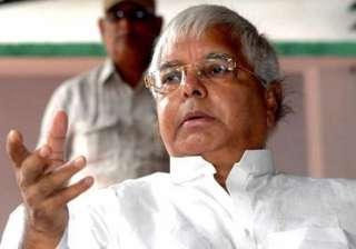who else but my son will be my successor lalu -...