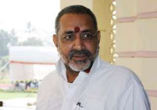 giriraj regrets racist remarks against sonia...