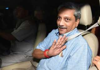 manohar parrikar visits bel in bengaluru - India...