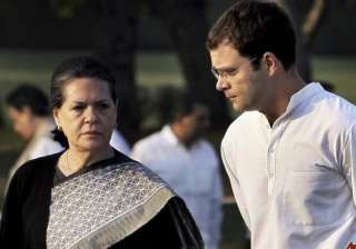 sonia rahul asks congress men to join relief...