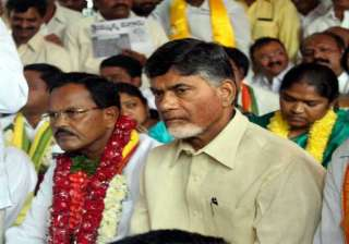 andhra pradesh in severe economic crisis cm naidu...