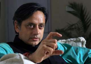 tharoor meets ahmad patel brief discussion on...