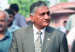 v k singh apologises to media with a caveat -...