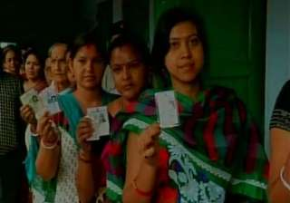 polls to 91 civic bodies in west bengal begin...