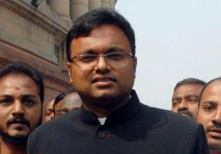 congress serves show cause notice to karti...