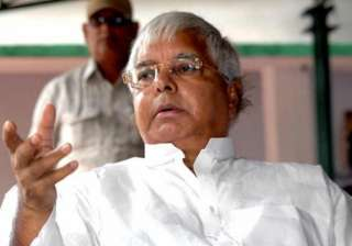 rjd national executive reposes faith in lalu...