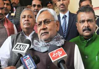 nitish kumar smells conspiracy in azizpur...