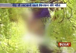 man commits suicide by hanging himself from a...