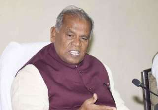 manjhi terms merger great devastation to seek jd...