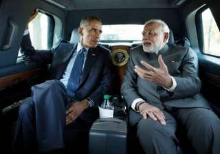 highlights what barack obama wrote for narendra...