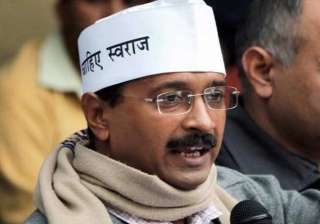 kejriwal to announce relief for rain hit farmers...