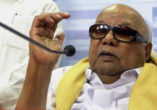 dmk chief slams bjp over re promulgation of land...