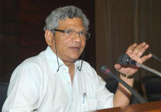 sitaram yechury rules out alliance with congress...