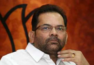 mukhtar abbas naqvi gets bail courts stays...
