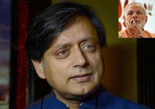 modi inspires tharoor s last part of trilogy on...