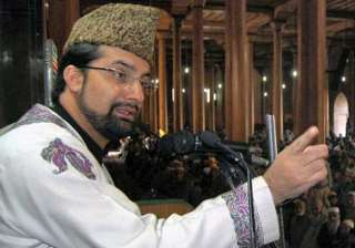 mirwaiz umar farooq placed under house arrest -...