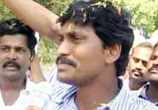 cong mla says jagan be made party head in andhra...