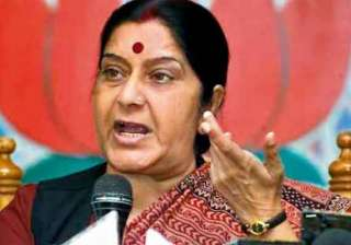 indians in iraq safe says sushma swaraj meets...