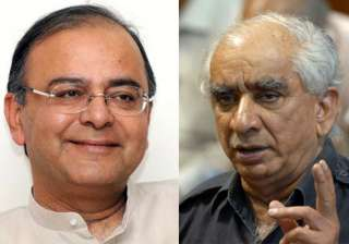 jaswant singh should accept party s no with smile...