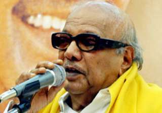 karuna to hit campaign trail from april 5 - India...