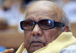 karunanidhi defends dmk s decision to join hands...