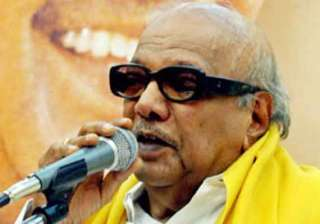 karunanidhi wants all party meeting on cauvery...