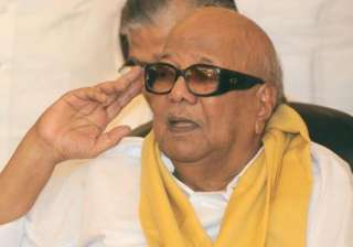 karunanidhi to lead state wide protest on apr 15...