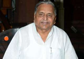 mulayam supports food bill with riders - India TV