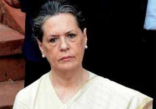 ls polls sonia to discuss strategy with party mps...