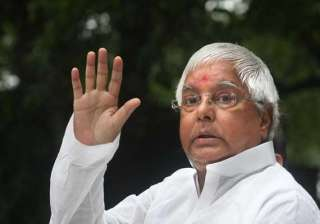 lalu to discuss jd u support for rs poll with rjd...