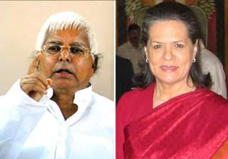 lalu to go along with sonia s choice - India TV