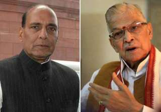 m m joshi in spat with bjp chief rajnath singh at...