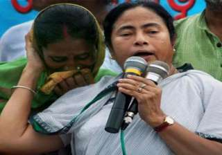mamata accuses cpi m of siphoning off money in...