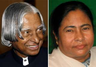 mamata debuts on facebook says kalam the choice...