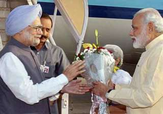 manmohan singh and narendra modi through raghu...