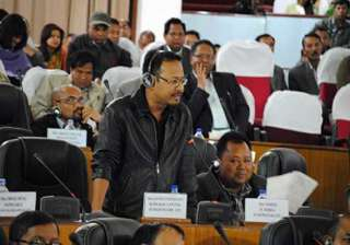 meghalaya opposition demand central rule...
