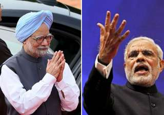 modi blasts mute pm says both upa rupee have lost...