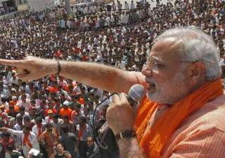 modi s ticketed rallies bjp hits back at congress...