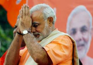 modi says it s an honour for him to contest from...