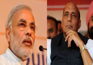 modi to contest from varanasi rajnath from...
